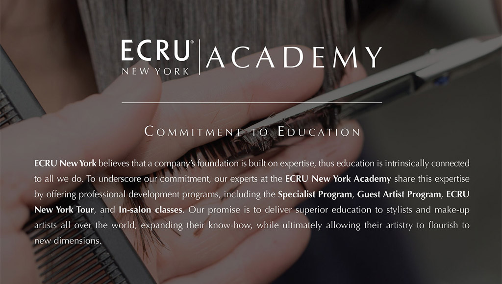Ecru Commitment to Education