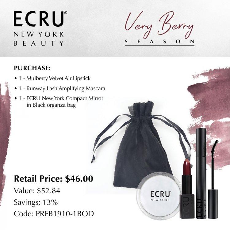 Ecru Beauty Very Berry Season