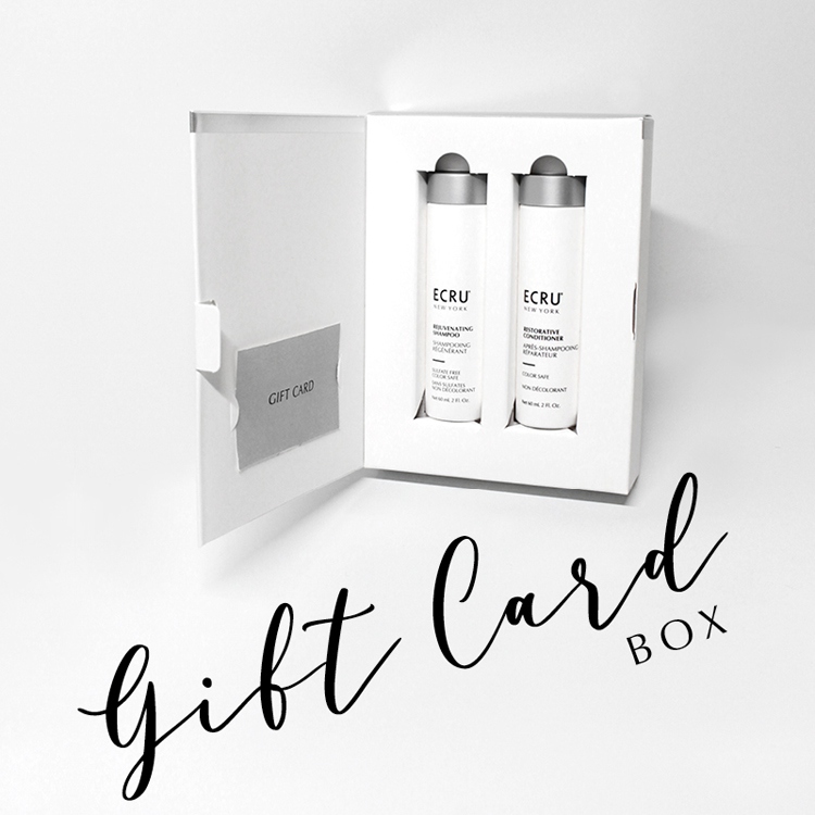Holiday 2020 Gift Card Box- FREE $10 ECRU NEW YORK GIFT CARD